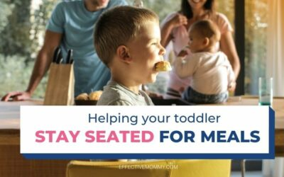 Help! My Two-Year-Old Won't Sit During Mealtimes