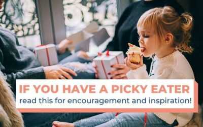 Encouragement for Moms of Picky Eaters