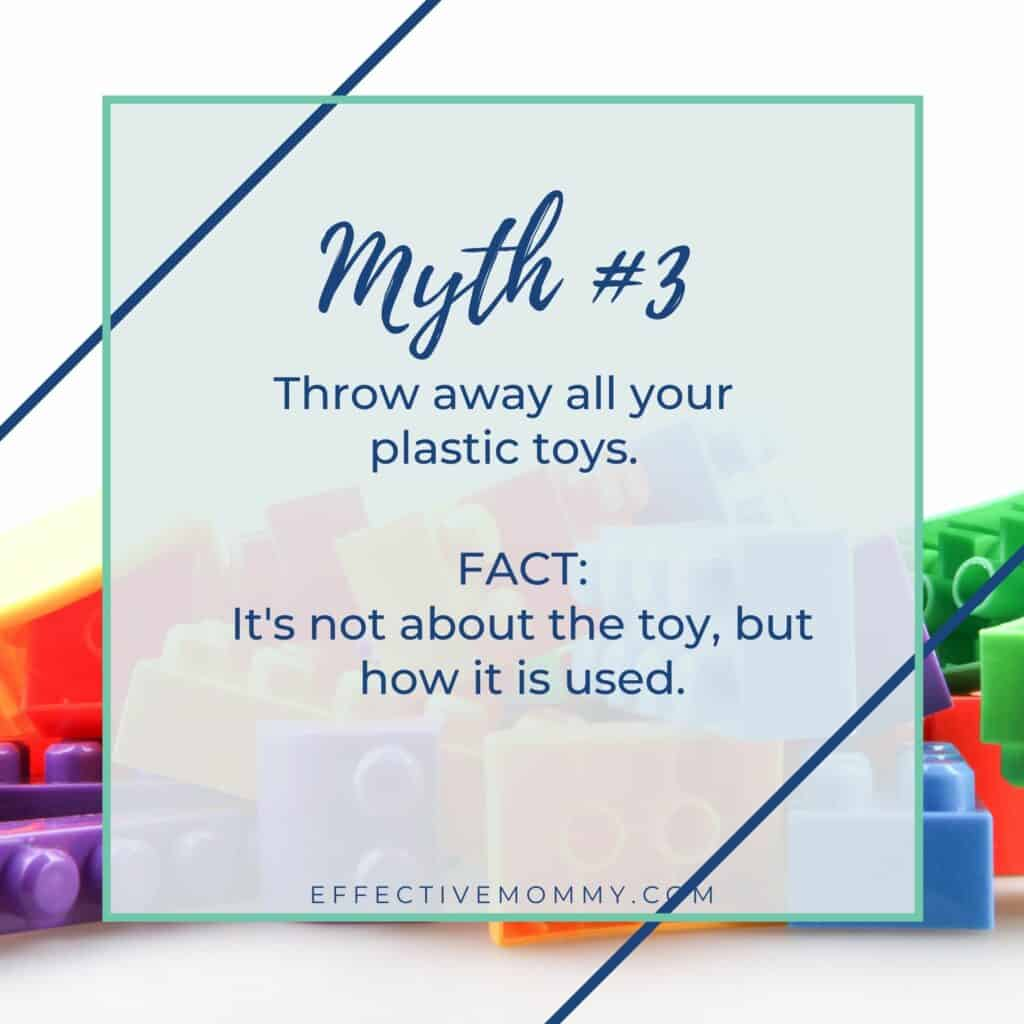 You don't have to throw away your plastic toys.