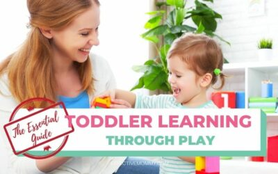 Learning Through Play for Toddlers
