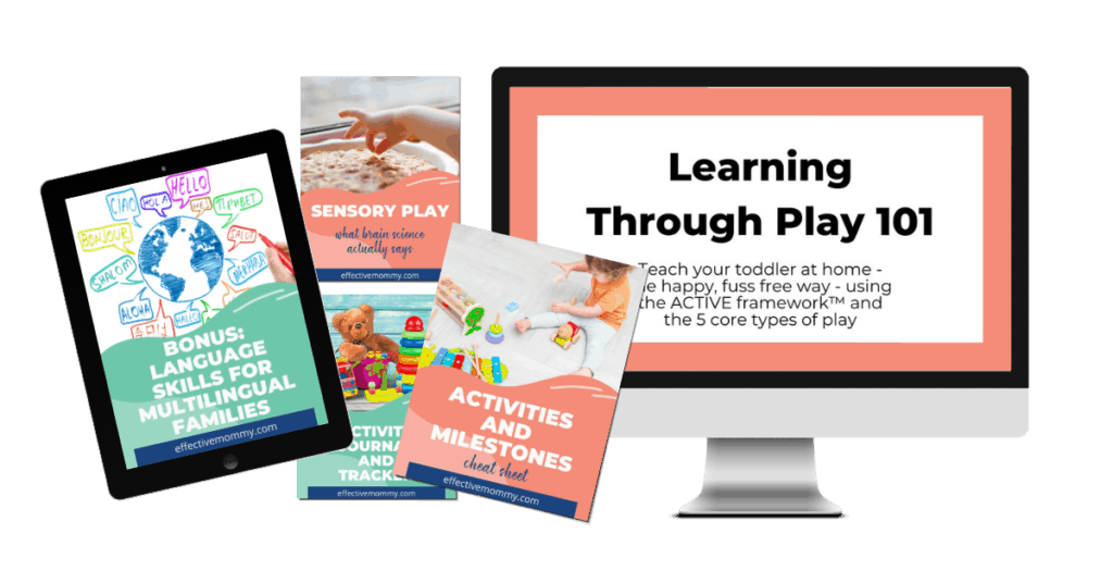 learning through play course and bonuses