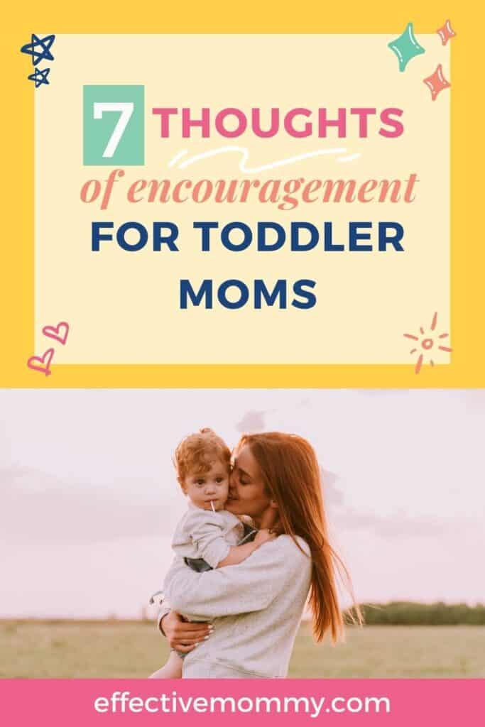 encouragement for toddler moms