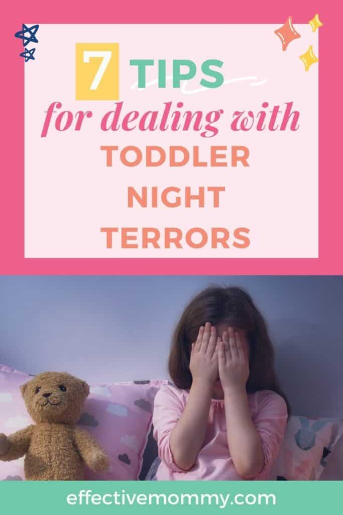 tips for dealing with toddler night terrors